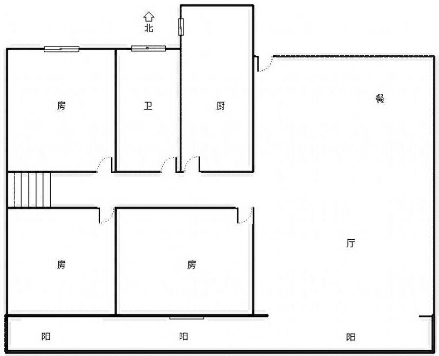 中奥广场 6室2厅110㎡