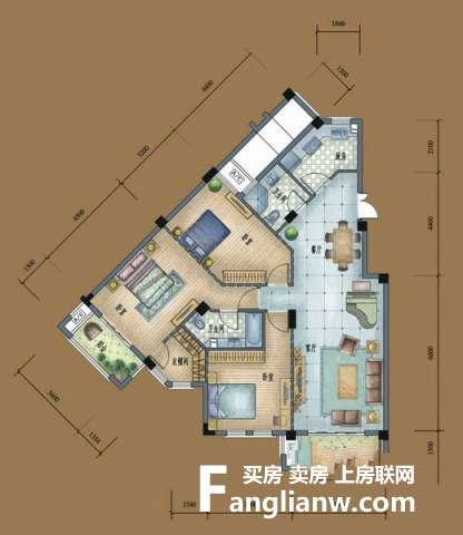 远洲九悦廷的户型图