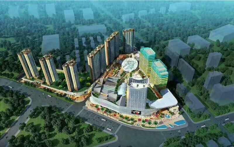 九江天虹购物中心的户型图