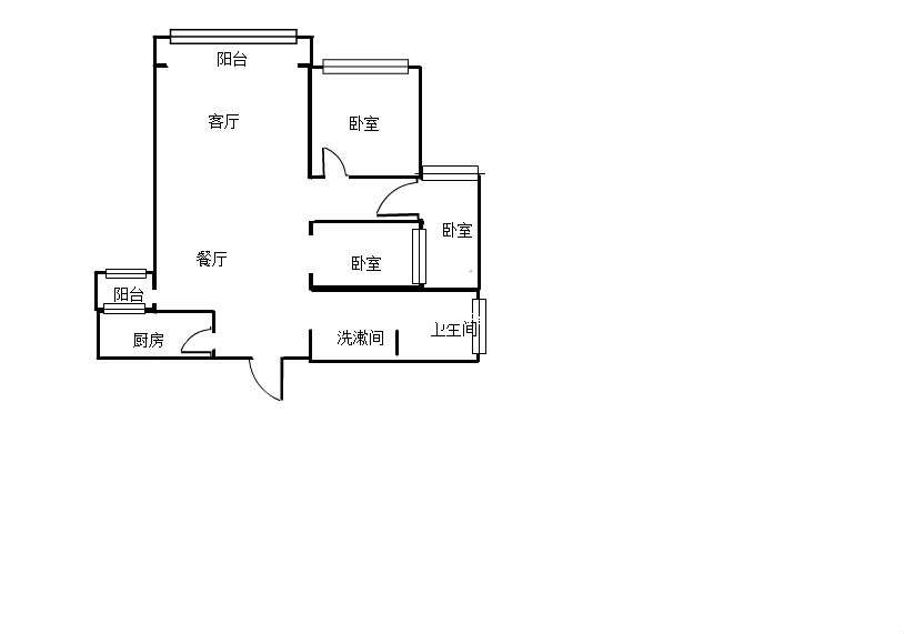 九龙新城的户型图