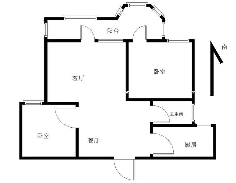 中体奥林匹克花园的户型图
