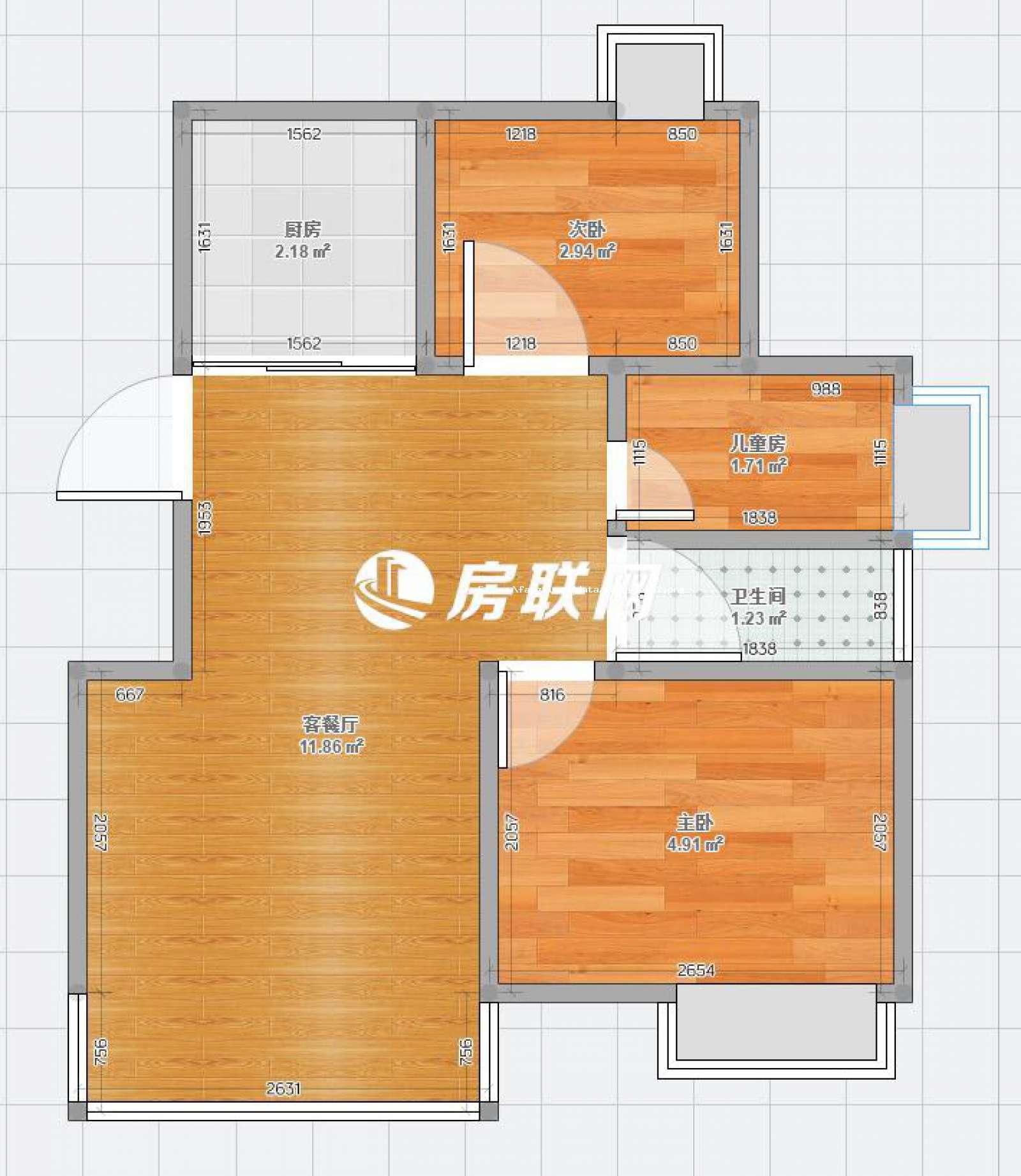 锦城嘉园的户型图