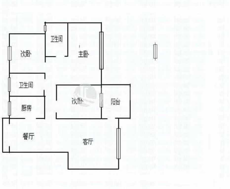 香域半山 3室2厅125㎡