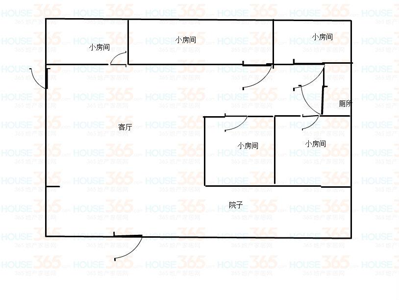 鸿丰馨苑 3室2厅2卫 133㎡
