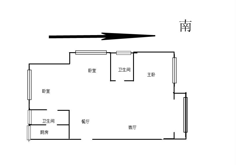 万达商圈新湖庐山国际大三房采光视野一流随时看房