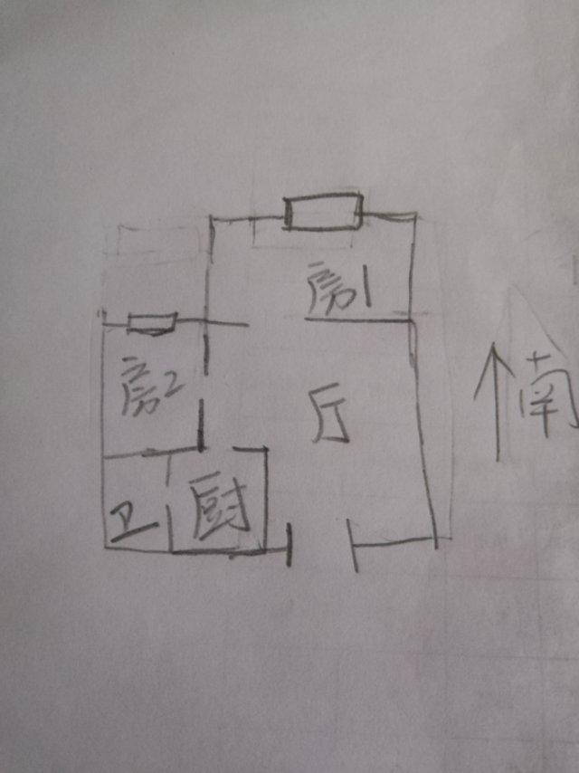 水岸莲华 2室2厅56㎡