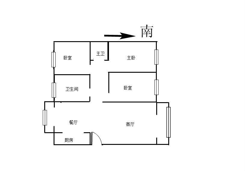 阳光365 3室2厅111.05㎡
