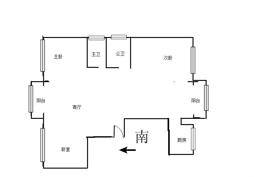 阳光365 3室2厅120.68㎡