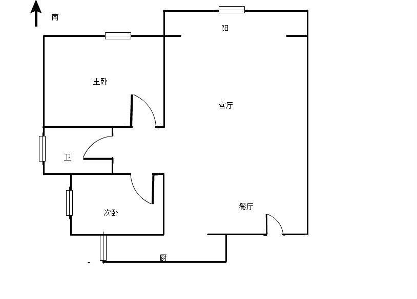 香域半山 2室2厅81㎡