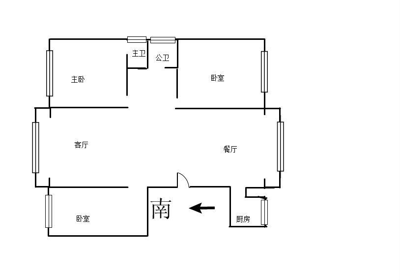 阳光365 3室2厅120.6㎡