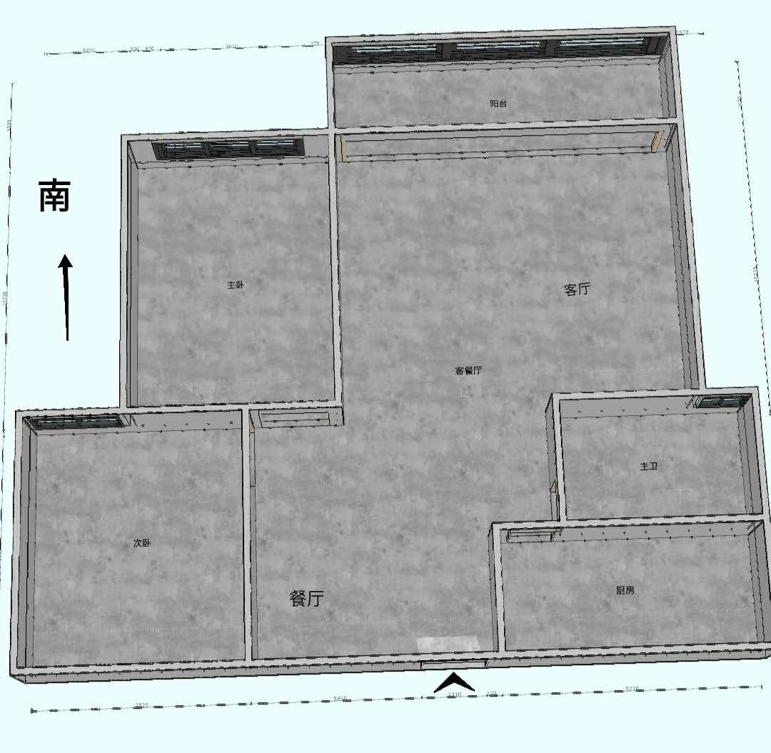 时代尊品 2室2厅83.82㎡