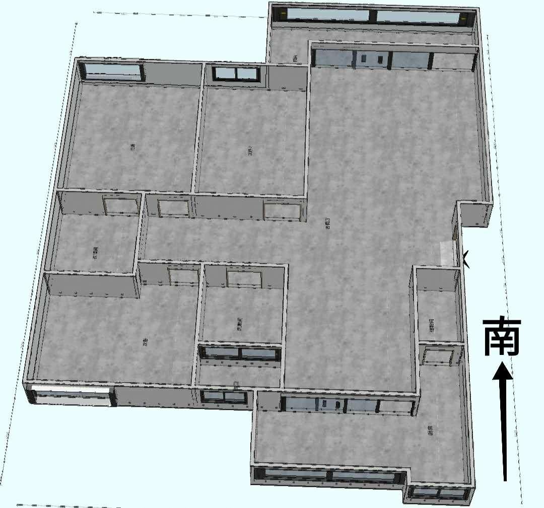 浔海领域 3室2厅128㎡