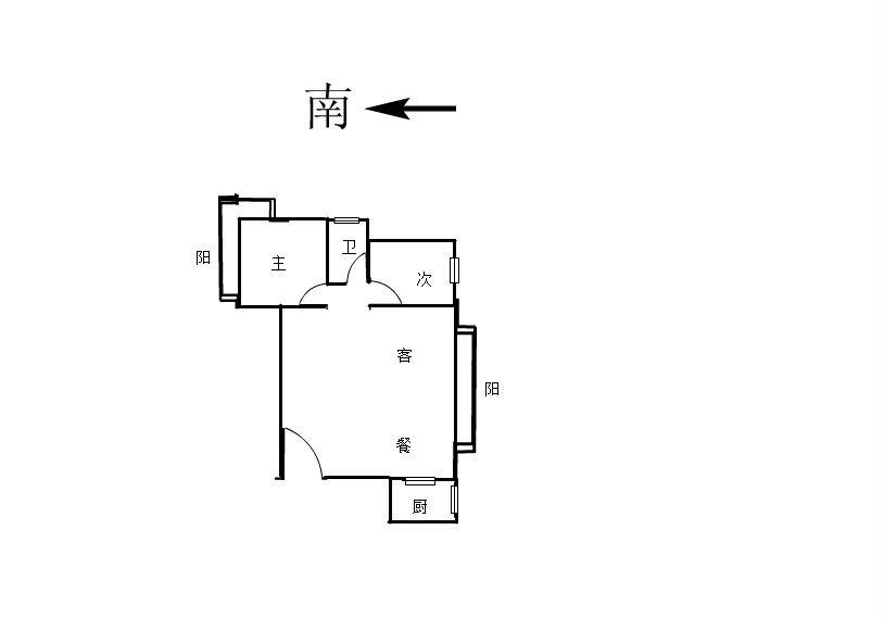 莱茵美郡 2室1厅100.8㎡