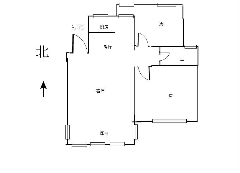 半山美树苑 2室2厅98.96㎡