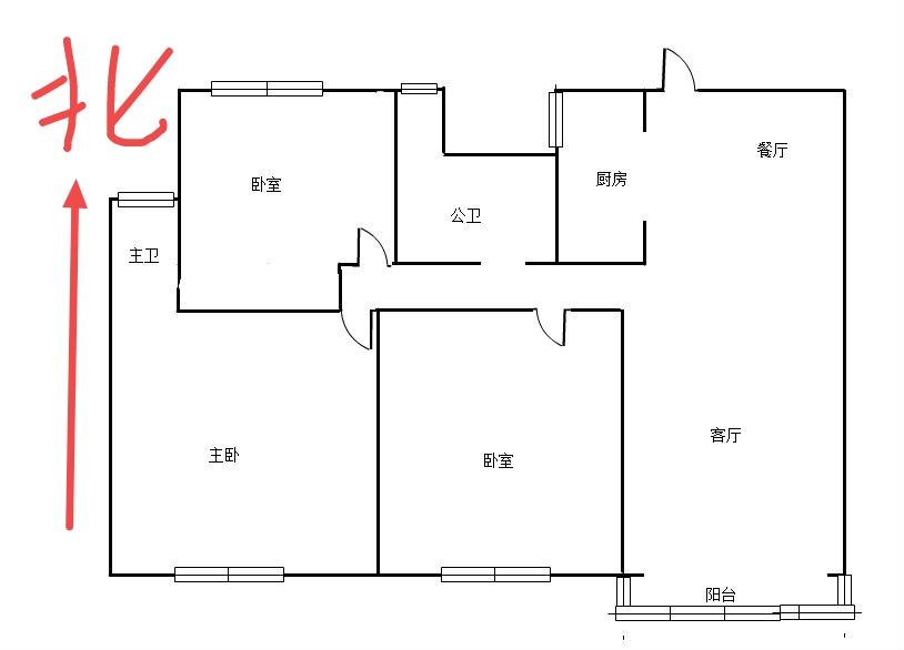 阳光城·愉景湾 3室2厅106.51㎡