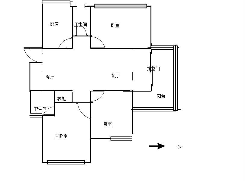 柴桑春天一区 3室2厅133㎡