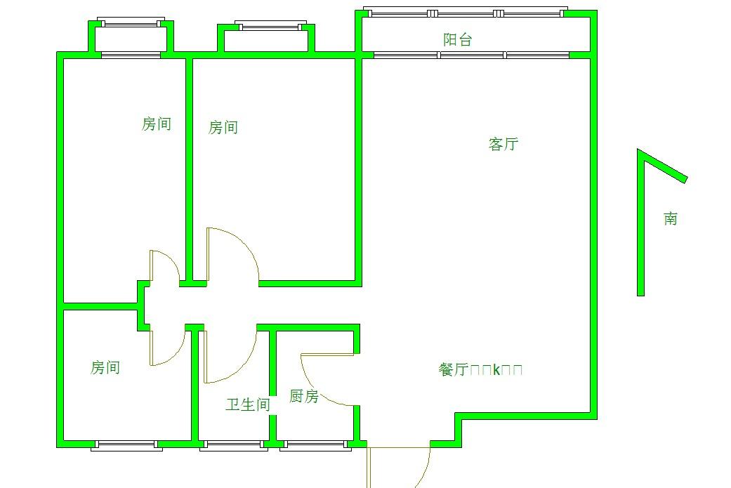 御江一品 3室2厅98㎡