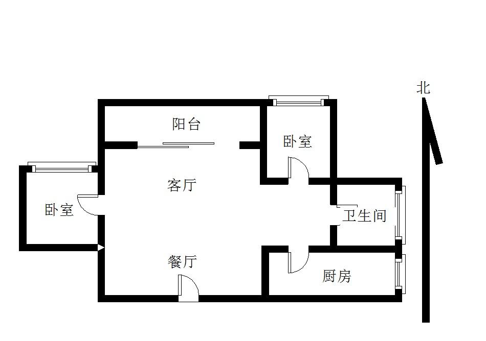 滨江花园一线江景房精装二房二厅保养好