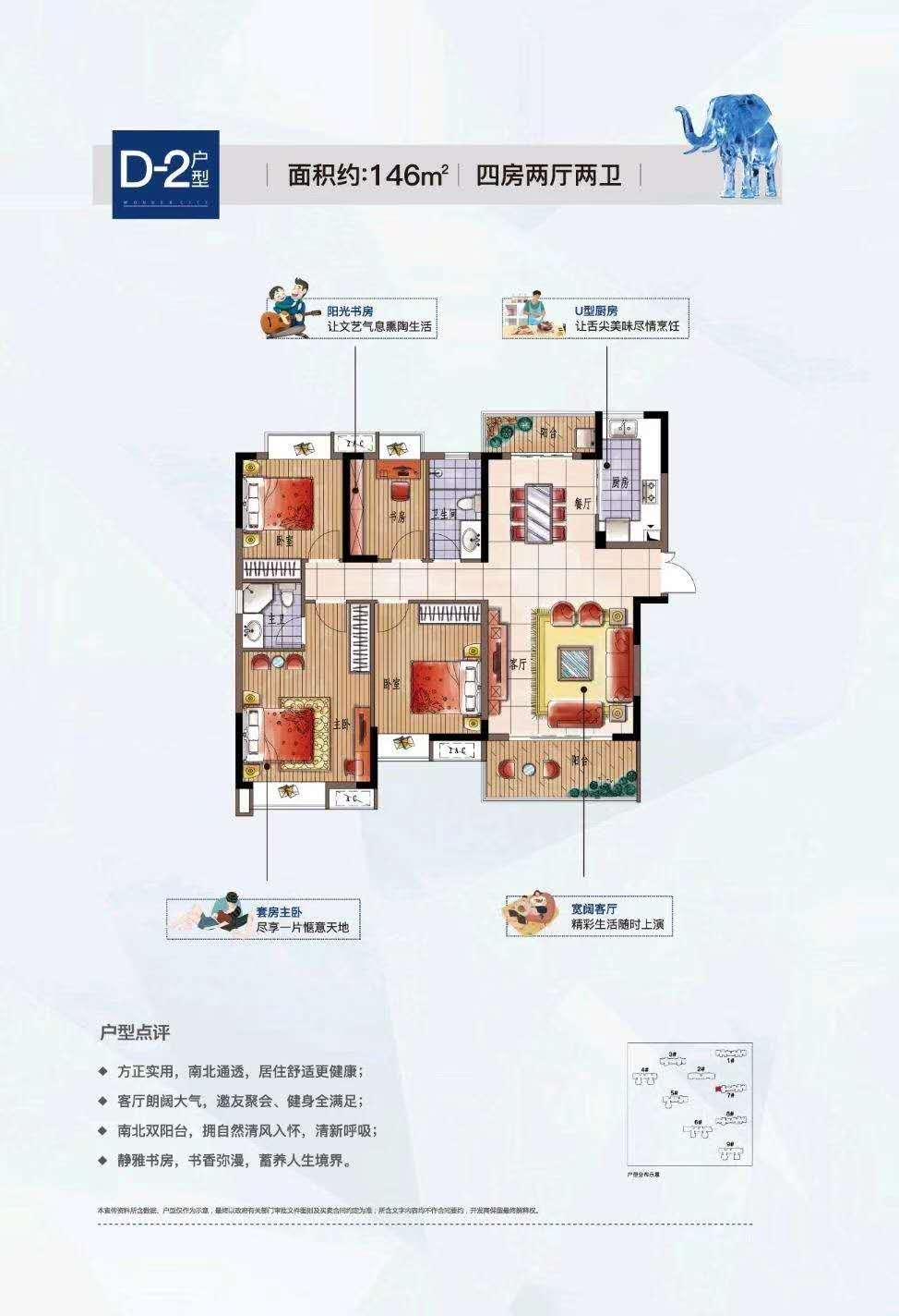 联泰万泰城(四期)的户型图