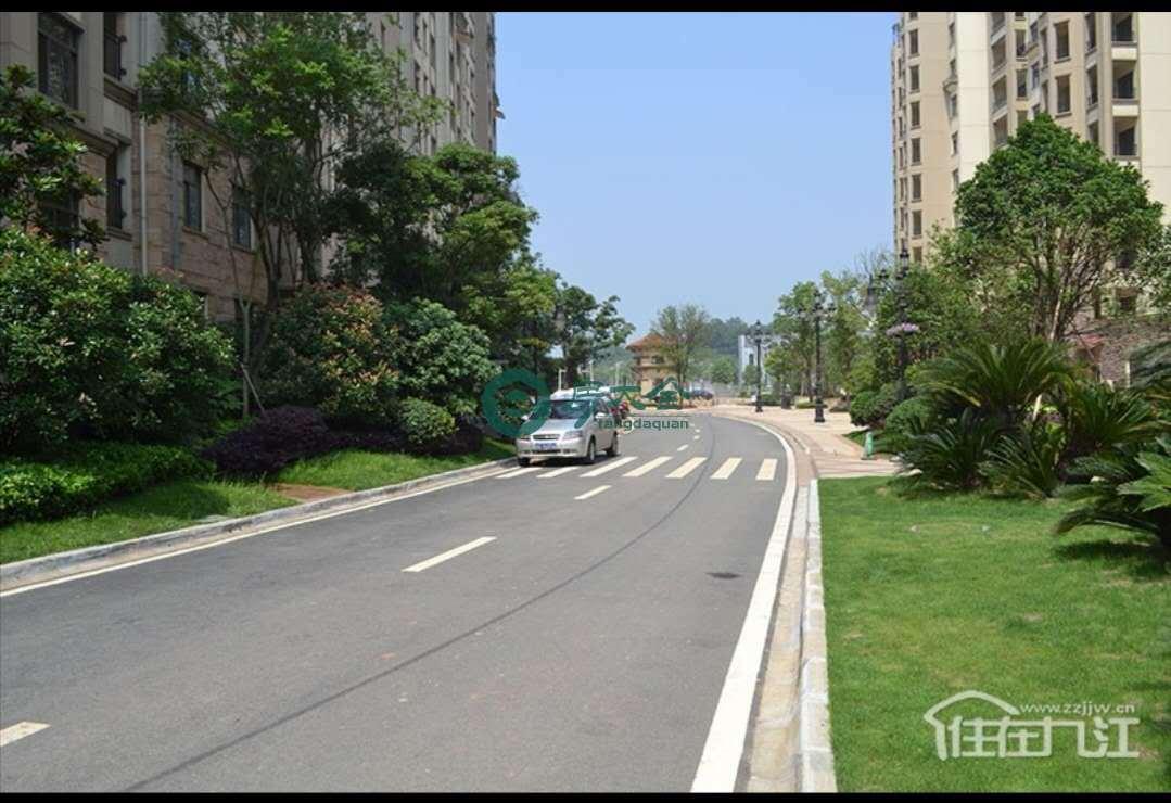 中体奥林匹克花园的实景图
