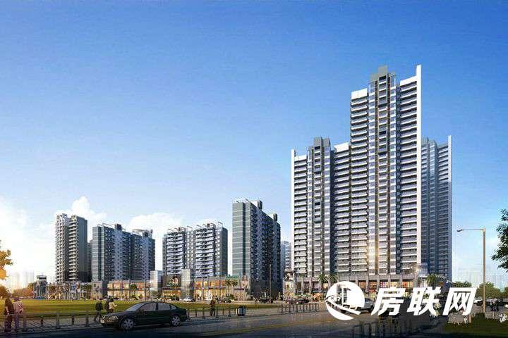 江州华府的实景图
