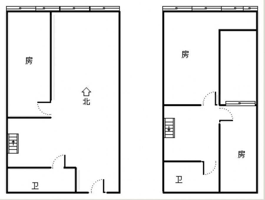 天虹公馆 3室2厅51㎡