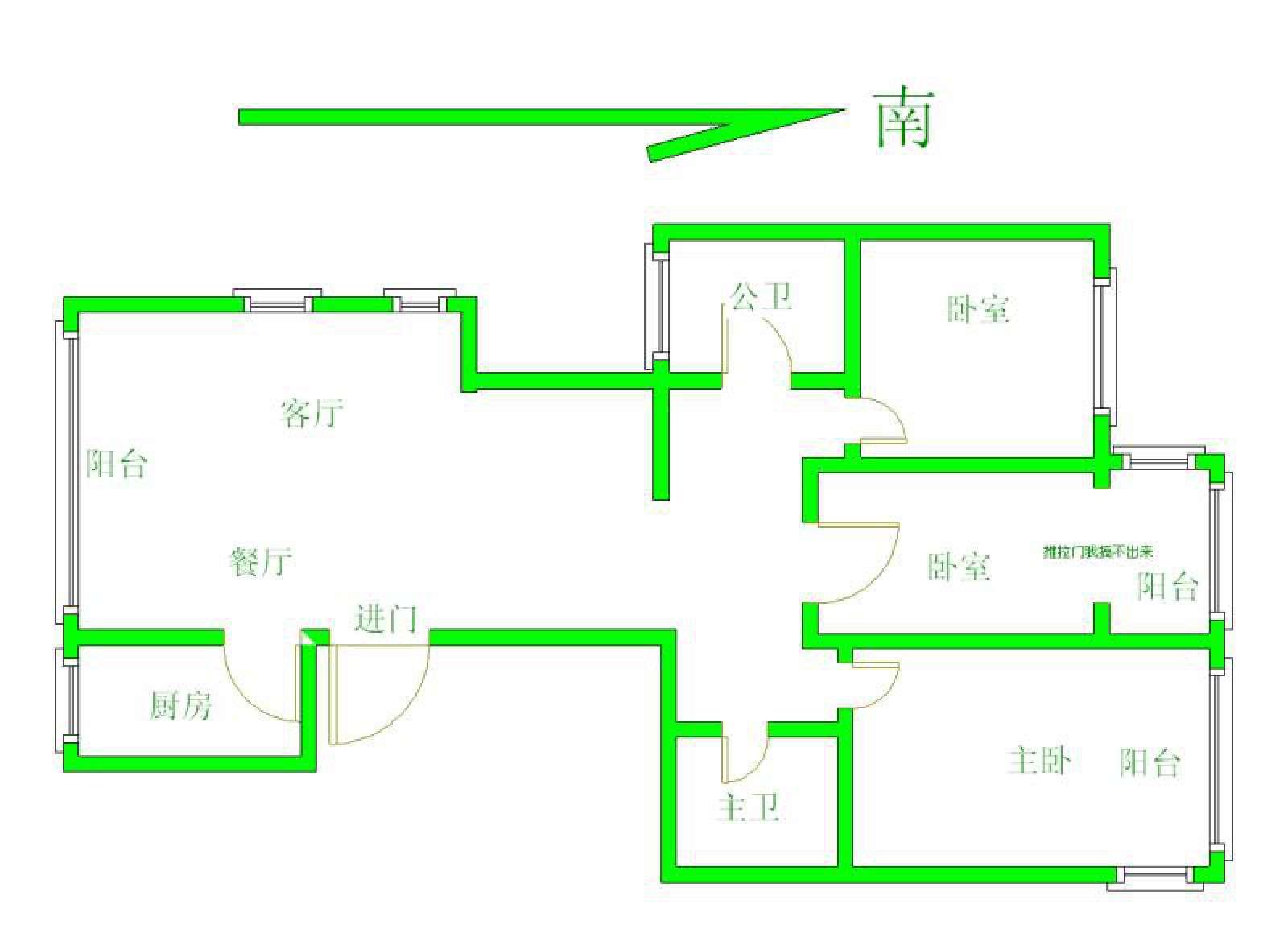 九江金鹏城 3室2厅139㎡