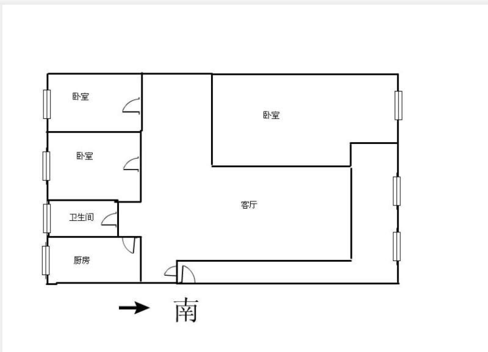 浔海领域 3室2厅138㎡