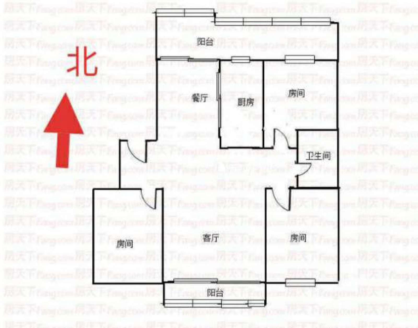 水木清华 3室2厅103㎡