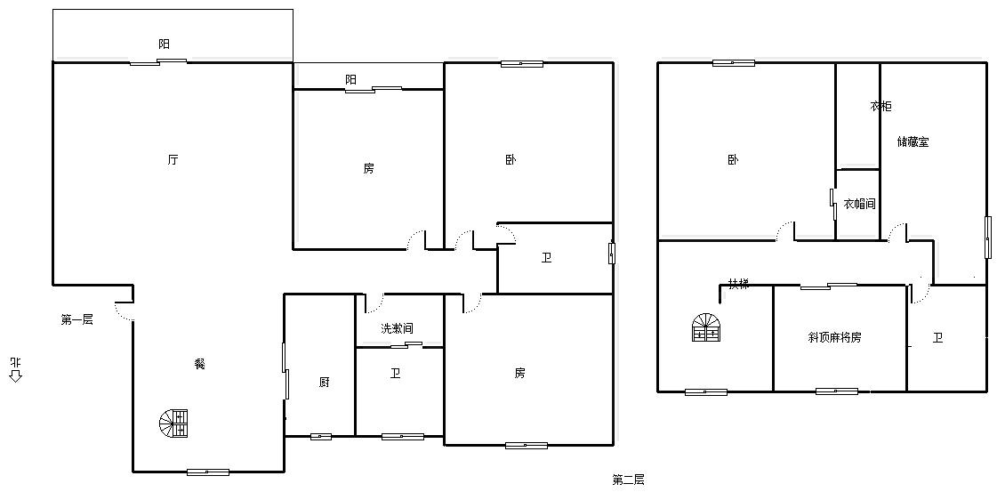 柴桑春天三区 4室2厅137㎡