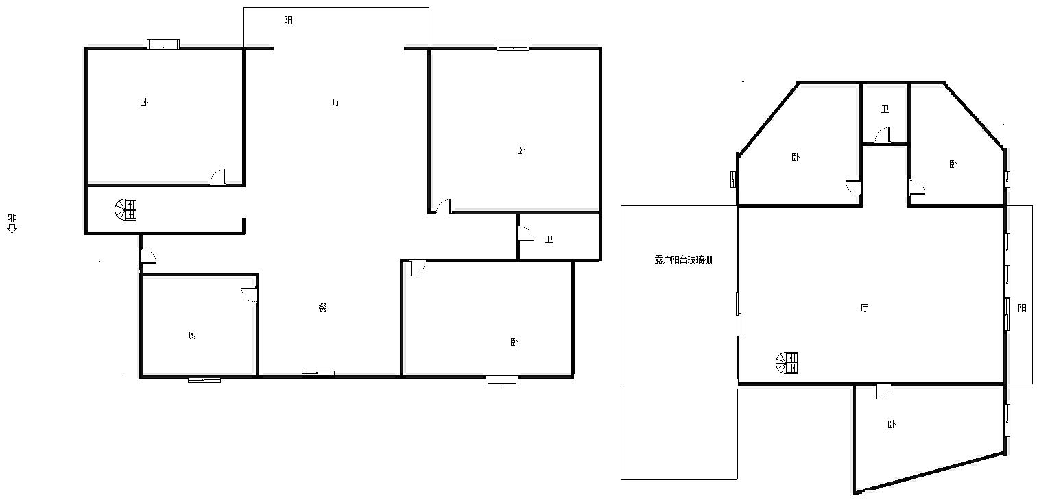 青竹苑 6室3厅205㎡