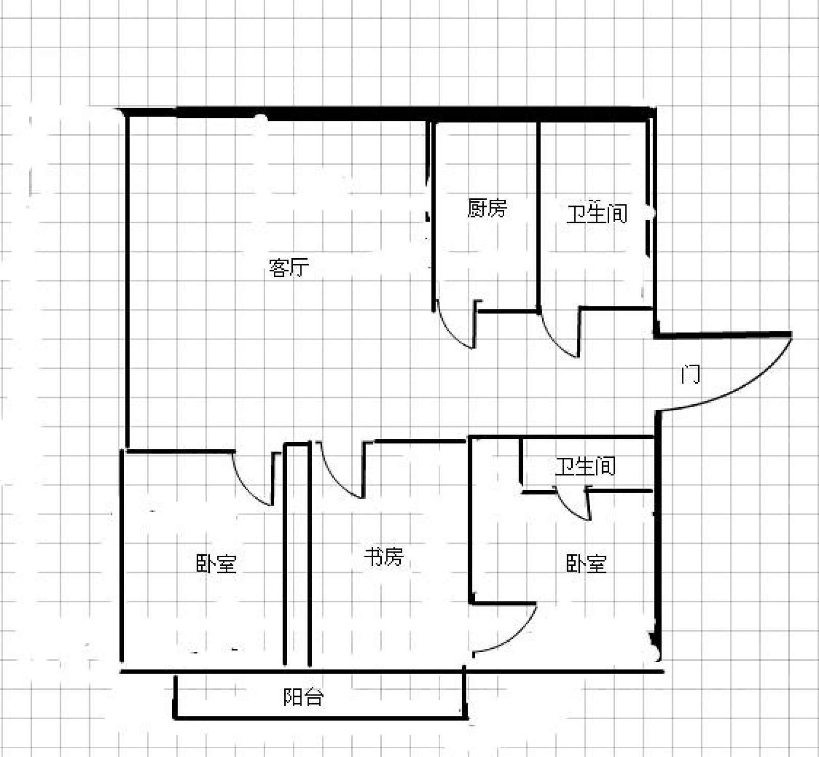 裕民小区 2室2厅145㎡