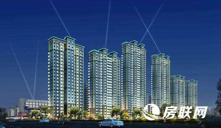 广隆·阳光城的效果图